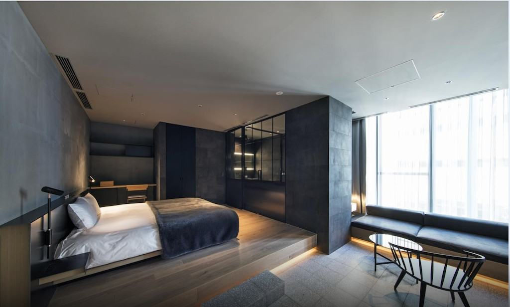 A cool boutique hotel in Tokyo