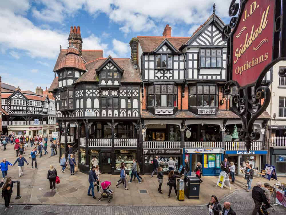 Chester - places to visit in Cheshire