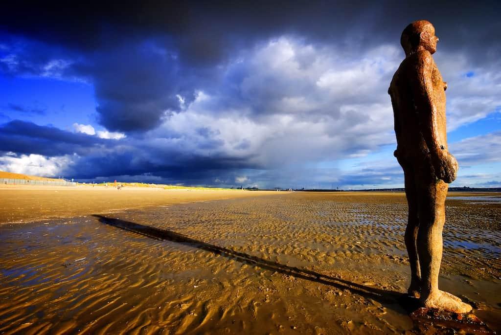 Crosby Beach Merseysid