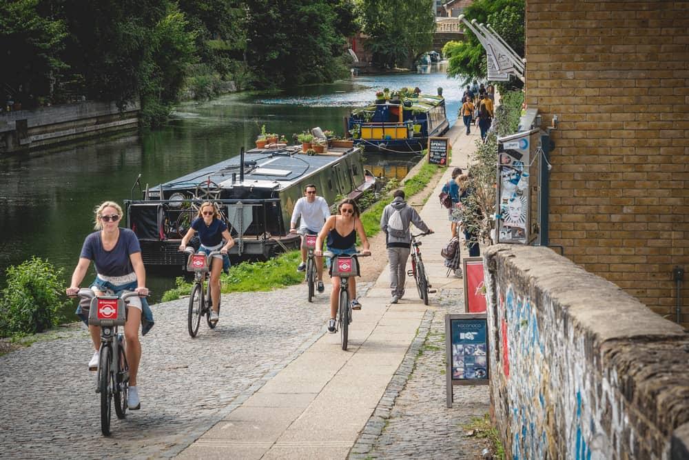 Hackney London River Path