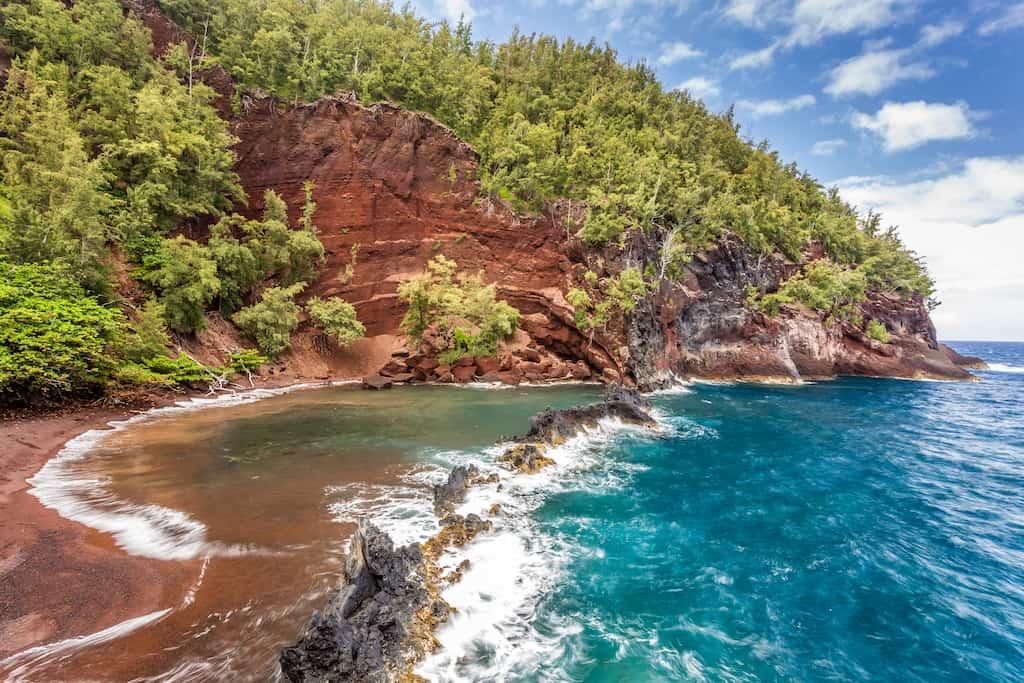 Kaihalulu Beach Hawaii