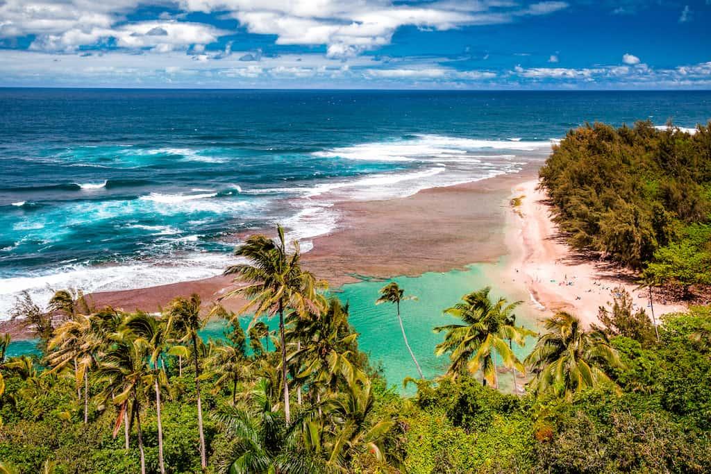 Kee Beach Hawaii