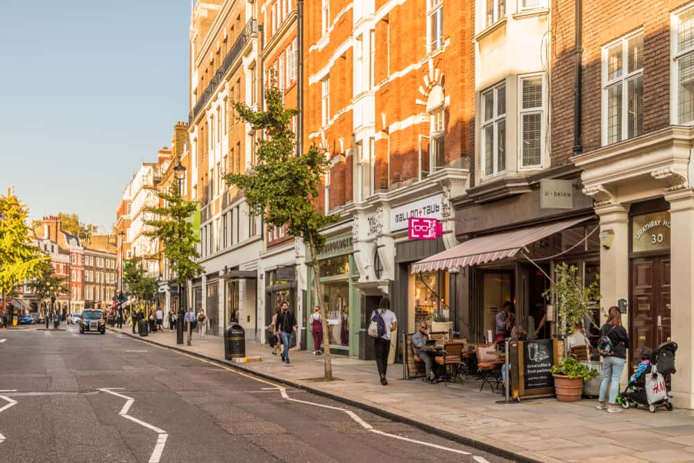 Marylebone neighbourhood London