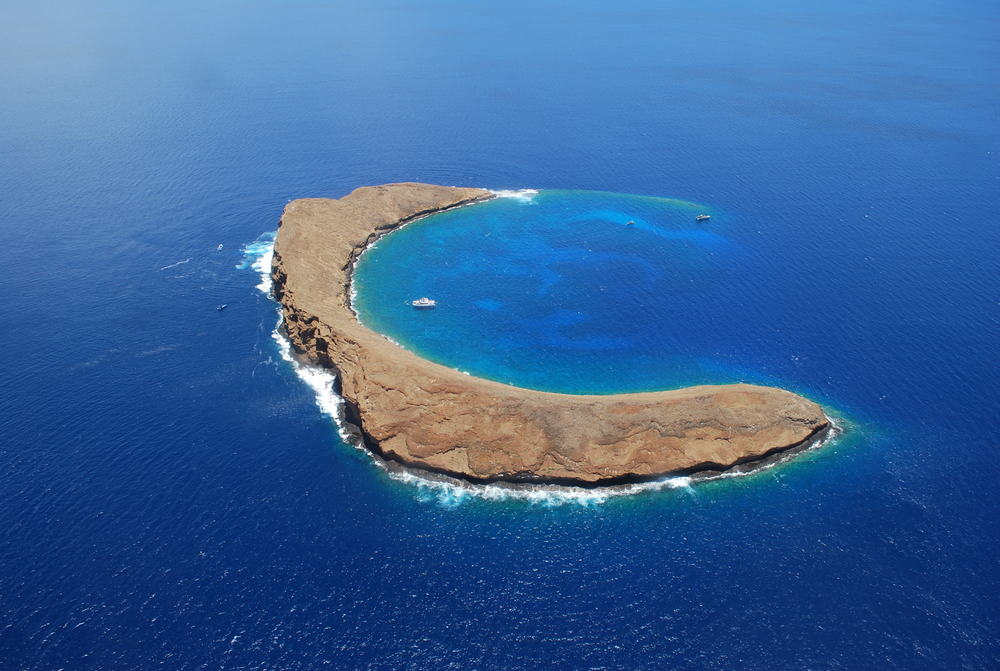 Molokini Crater - best places to visit in Hawaii