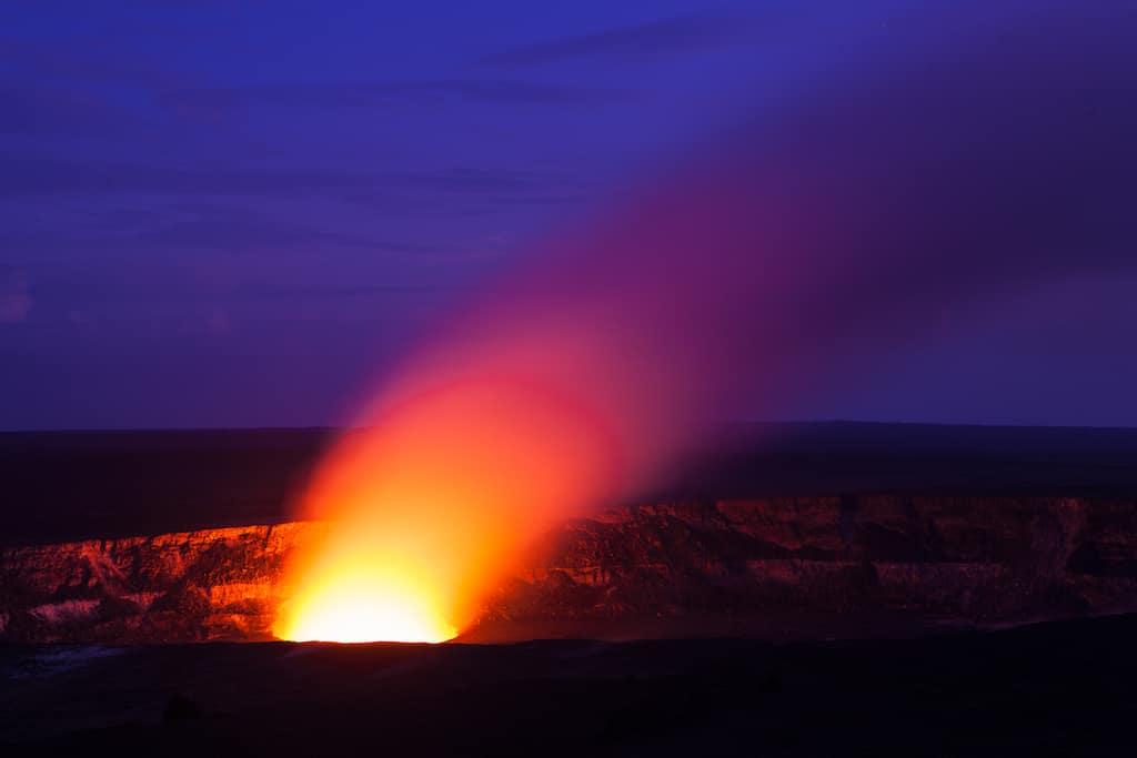 Mount Kilauea Hawaii