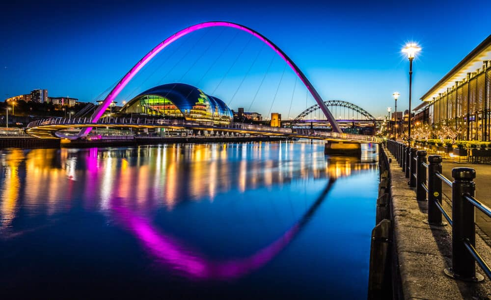 Newcastle - a city in Northern England