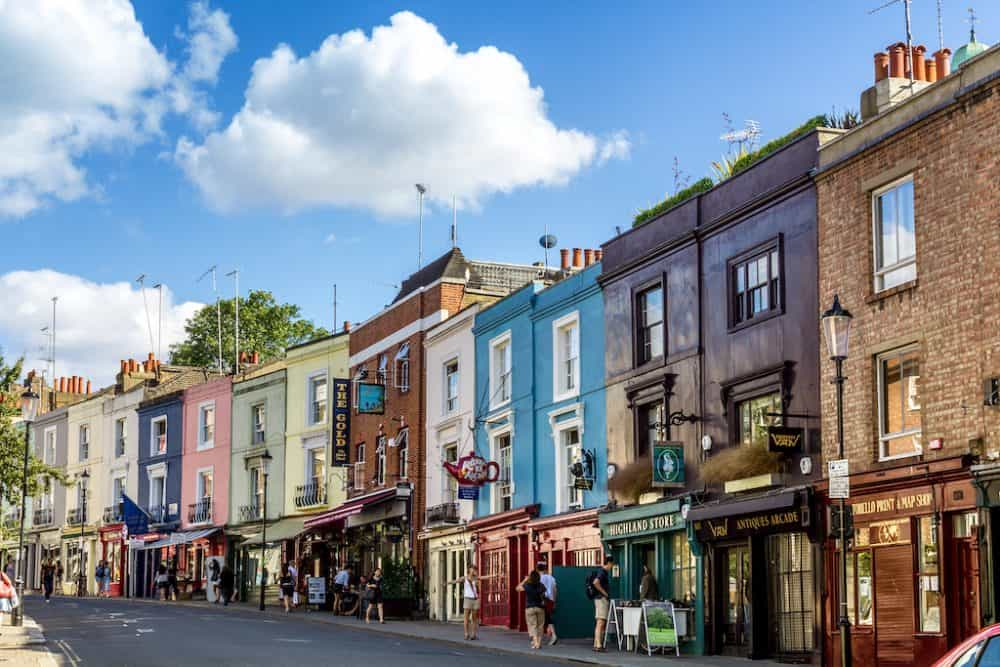 Notting Hill - Film locations in London