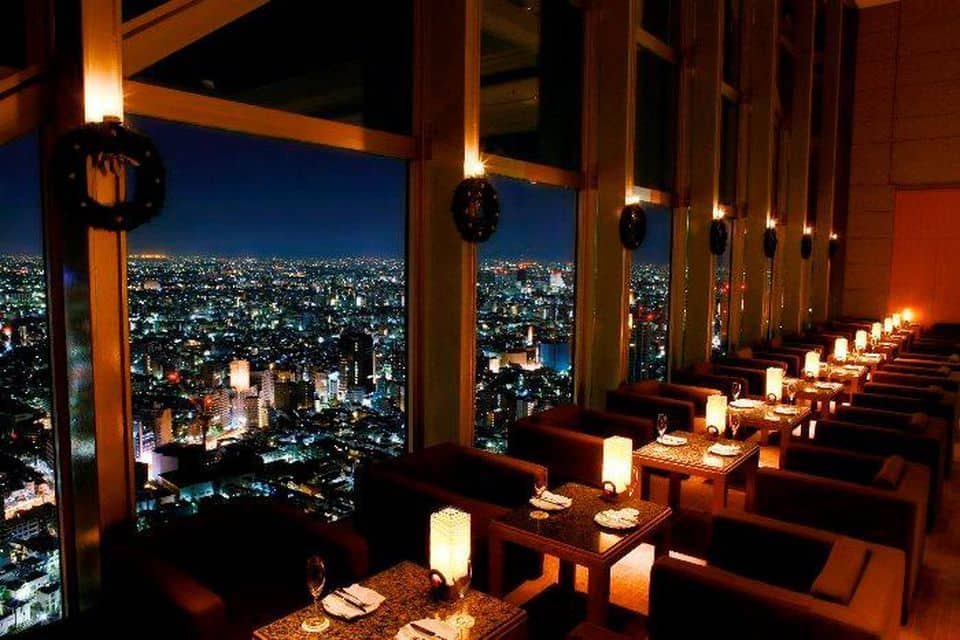 Tokyo hotel with great views