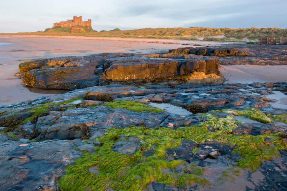 Seahouses - Northumberland coast's Area of Outstanding Natural Beauty