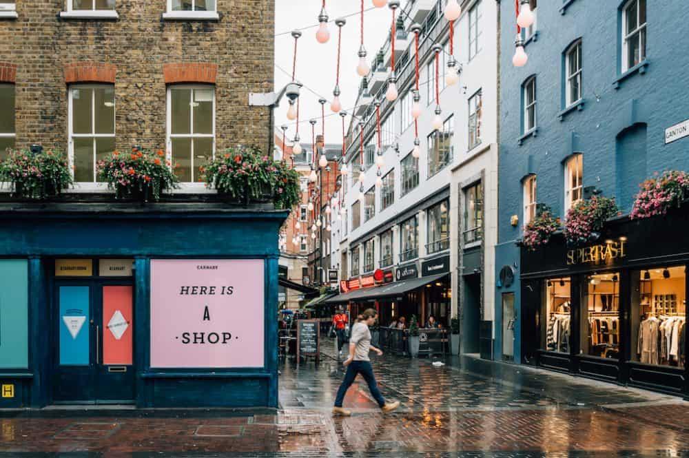 Soho - London's prettiest neighbourhoods