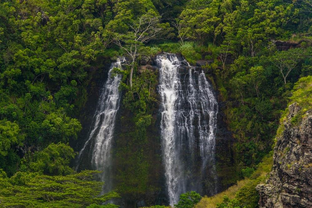 Uluwehi Falls Hawaii