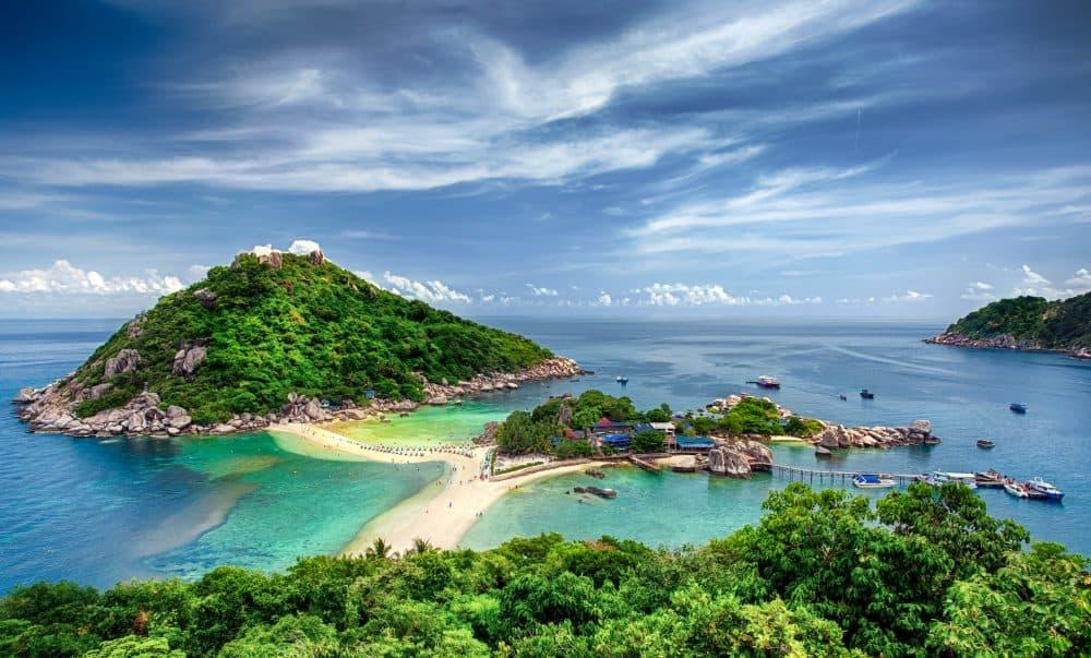 Koh Nang Yuan Thailand - most beautiful islands in Thailand