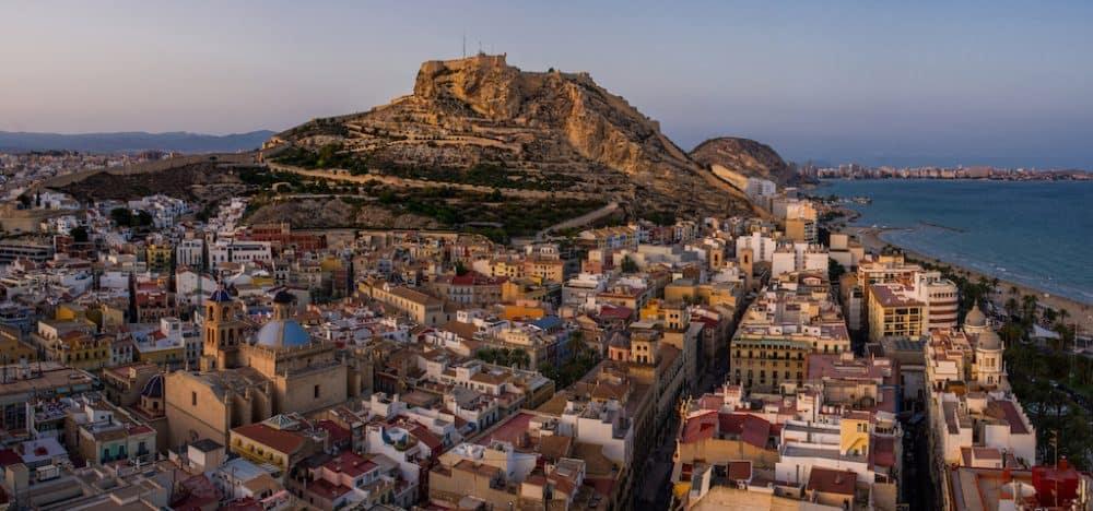 Alicante city Spain