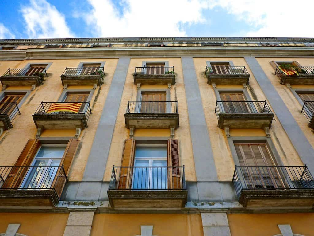 Girona Square Houses Spain on GlobalGrasshopper.com