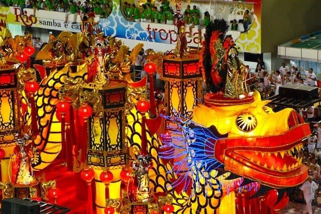 Rio Carnival - travel blog competition on GlobalGrasshopper.com