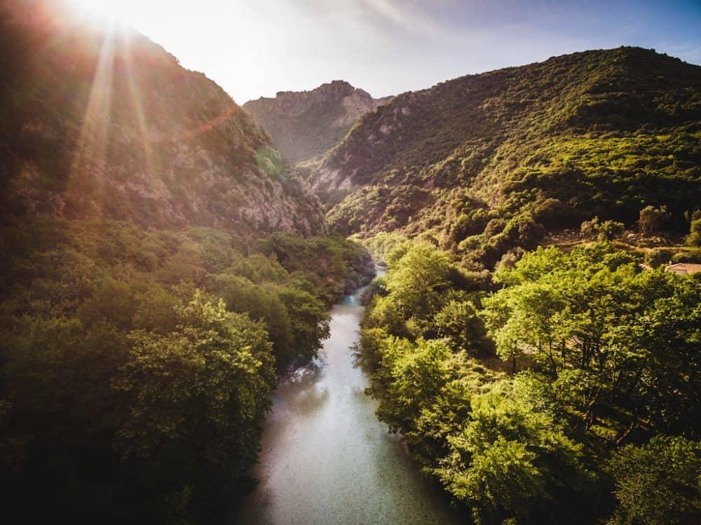 Acheron Springs - a natural Greek beauty spot