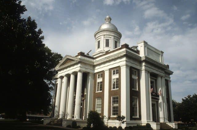 Canton Mississippi Courthouse on GlobalGrasshopper.com