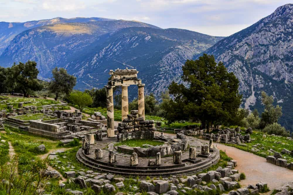 Delphi Theatre Greece