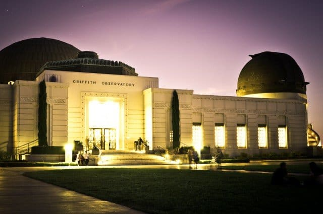 Griffith Observatory Sunset on GlobalGrasshopper.com