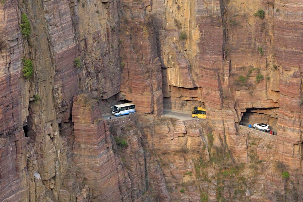 Guoliang Road - coolest road trips in the world