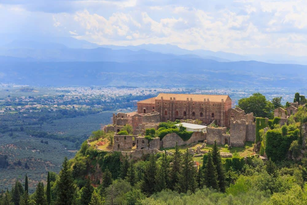 Mystras Greece - awesome places to explore in Greece