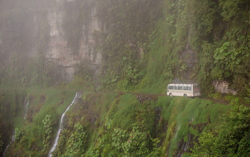 North Yungas Road Death Road Bolivia