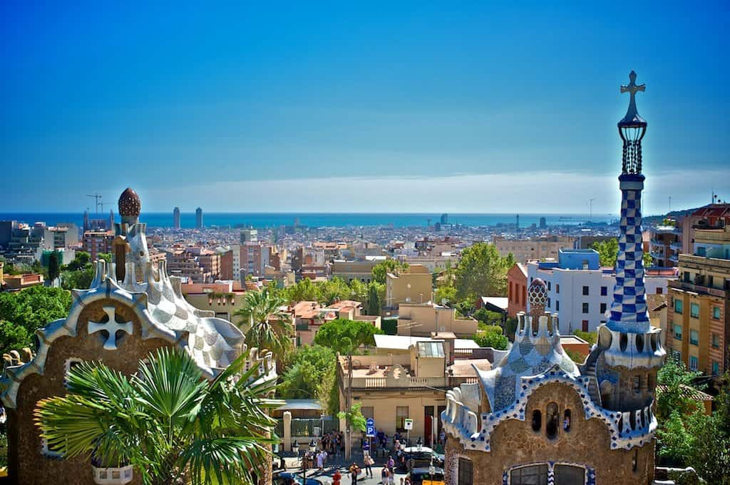 Park Guell Barcelona on GlobalGrasshopper.com
