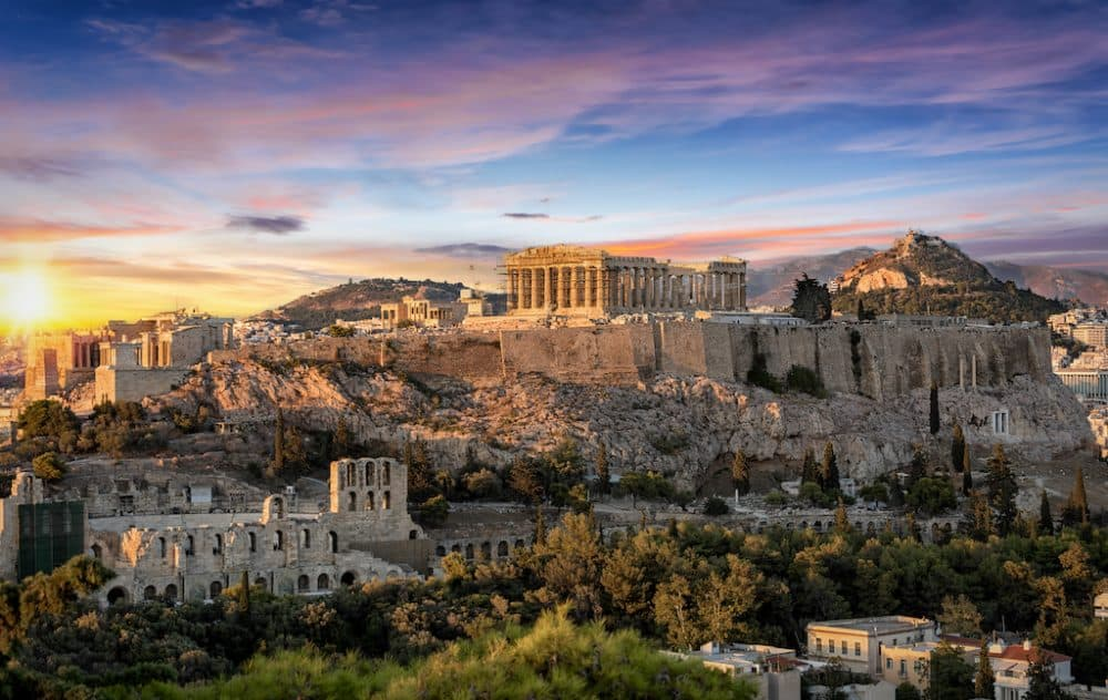 Parthenon Athens - the best places to visit in Greece