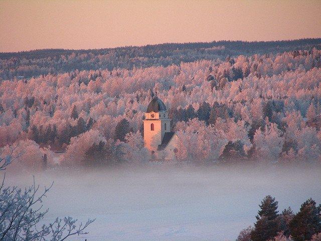 Rättvik Sweden in Winter Christmas on GlobalGrasshopper.com