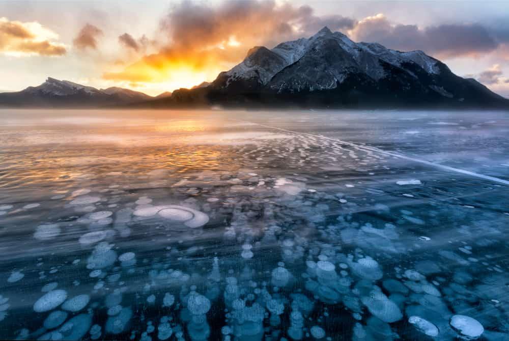 Abraham Lake Canada