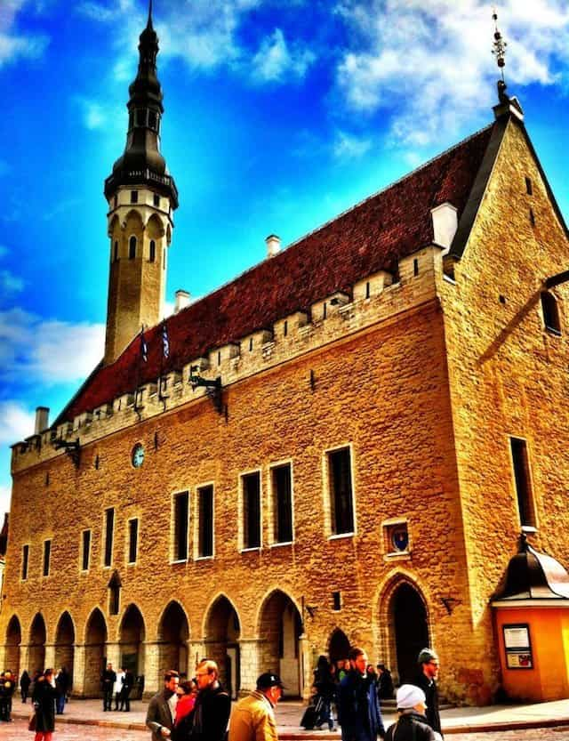 City Hall Talllinn - Tallinn in a day on GlobalGrasshopper.com