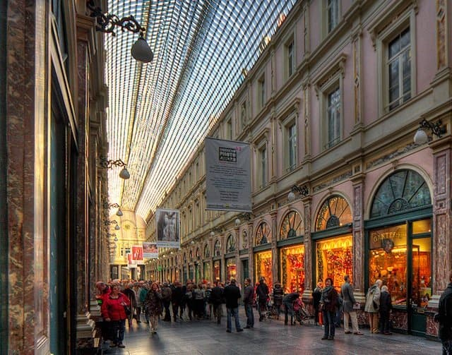 Galeries Royales Brussels - prettiest shopping streets on GlobalGrasshopper.com