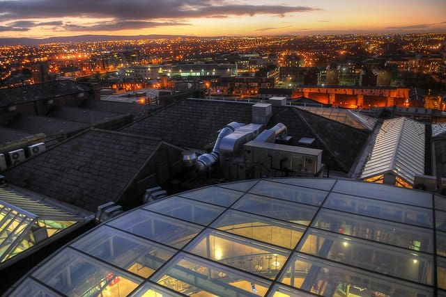 Cool places to visit in Dublin: the Guinness Storehouse Global Grasshopper