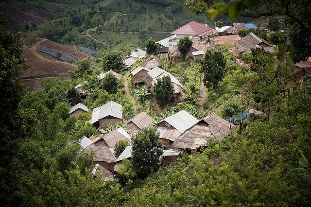 Hill Tribe Village Thailand