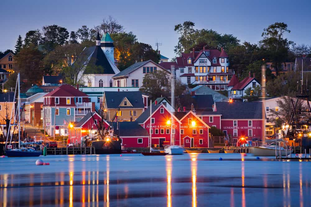 Lunenburg - most beautiful places to visit in Canada