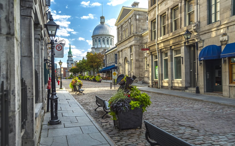 Old Montreal Canada
