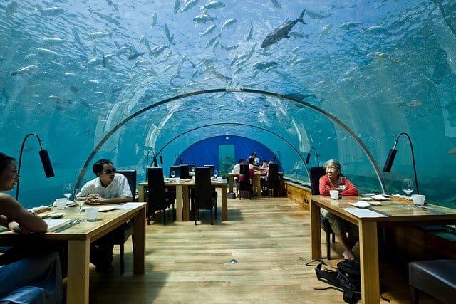 Maldives Hotel Underwater Rooms