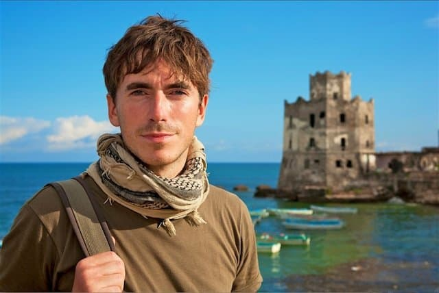 An evening with BBC Travel Presenter Simon Reeve Global Grasshopper