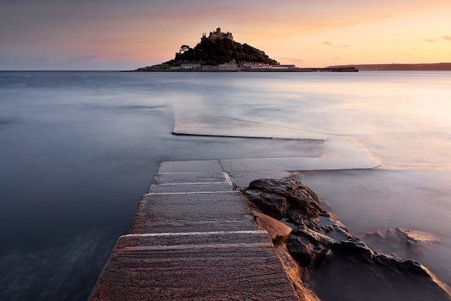 St.Michaels' Mount Cornwall - most beautiful islands in the UK on GlobalGrasshopper.com