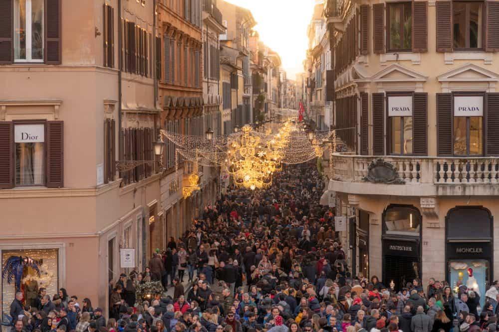 Via Dei Condotti Rome