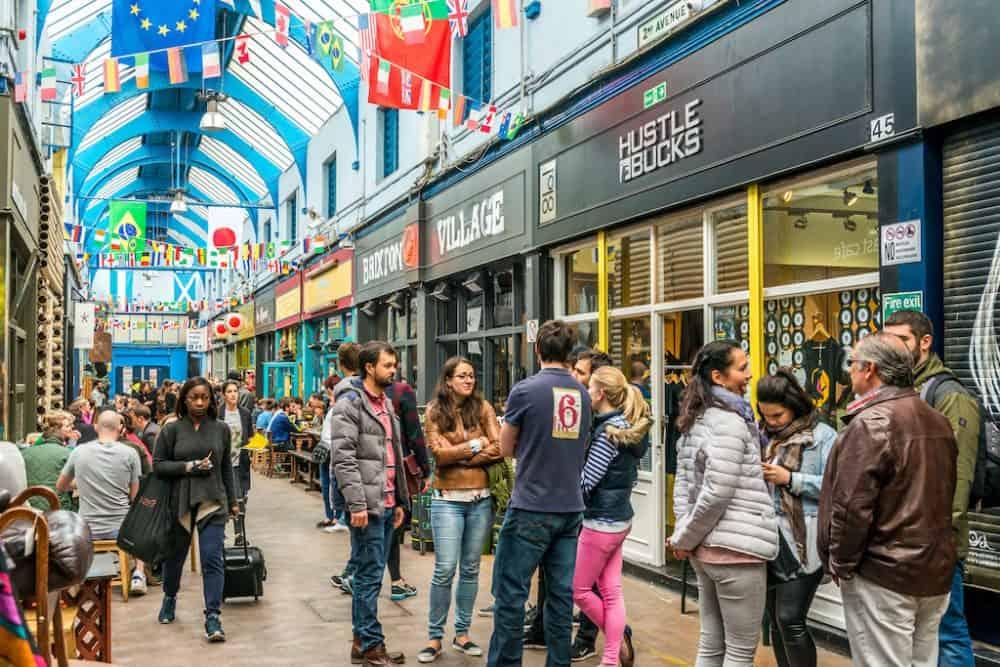 Brixton Market - alternative shopping streets in London