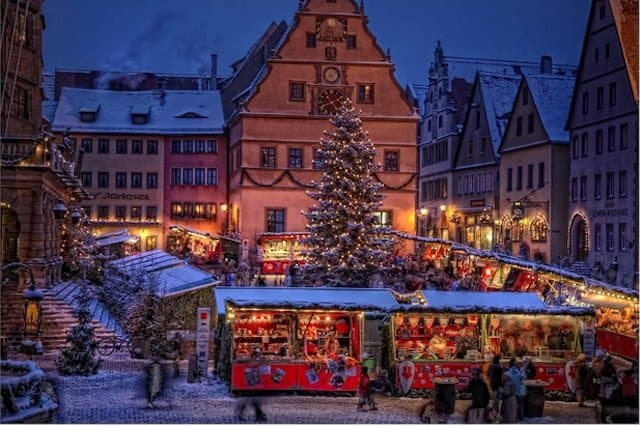 Christmassy Destinations