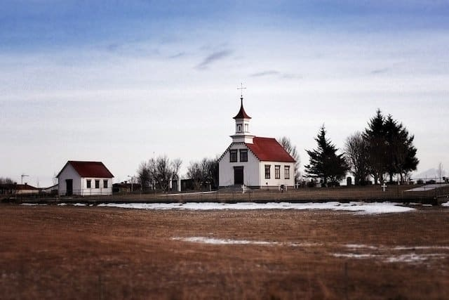 Church in South Iceland