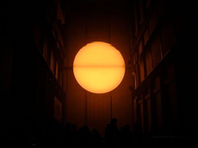 Eliasson Weather Project Tate Modern