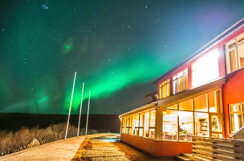 Hotel Glymur - for Northern Lights and breathtaking views