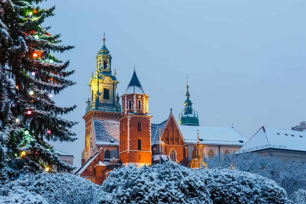 Krakow at Christmas