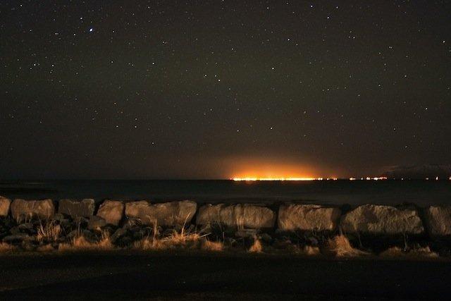 Night Sky from Reykjavik