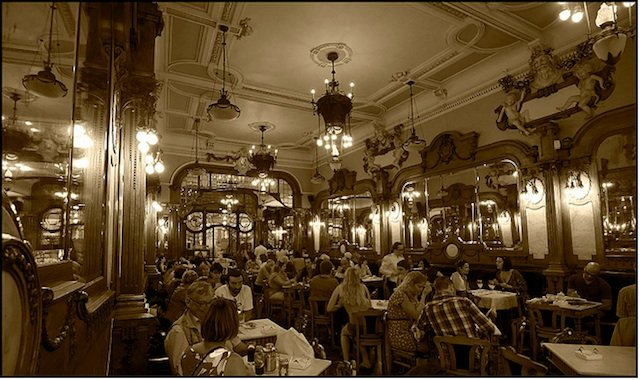Best historic cafe in Europe
