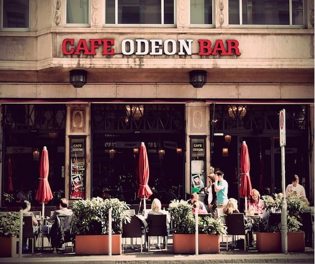 Best historic cafes Europe