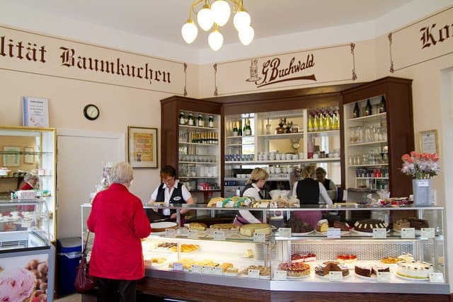 Cafe Buchwald Berlin - best historic cafes